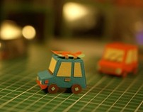 Paper Cars