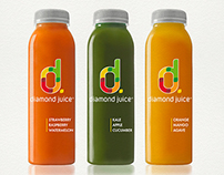 Diamond Juice Brand Identity