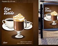 Afiches Publicitarios, Oster y Calypso