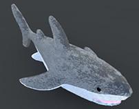 3D Plush Shark