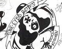 One-Eyed Betty's Bar + Kitchen logo