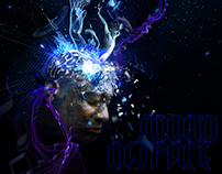 Dubstep - sound of space poster option 1