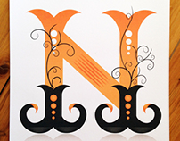 Custom Typeface Design...