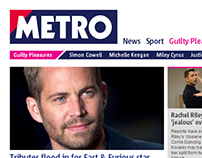 Metro.co.uk responsive site