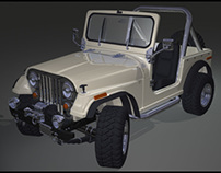 4WD - High poly model