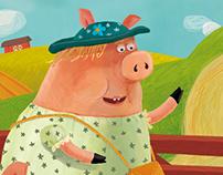 Children's book about ferma