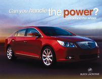 Buick LaCrosse Ad