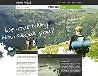 Hiking Rocks Website