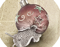 In which a snail is most festive this christmas