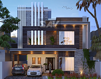 Small modern house in Lahore Pakistan