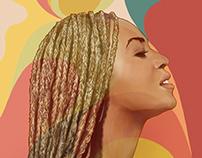 Beyonce illustration