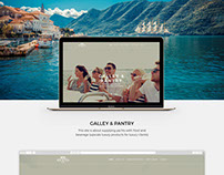 Galley & Pantry Website | Luxury services for yachts