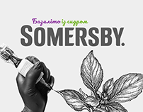 Somersby – Basil Tattoo