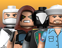 Lego Minifigures: Series 4
