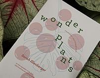 Wonder Plants newsprint poster