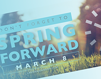 2015 Daylight Saving | Spring Forward