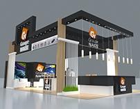Nakbi Stand exhibition design