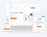 UI/UX design for property aggregator
