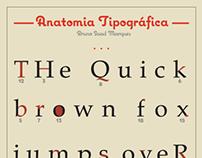 Typeface Anatomy Poster