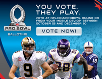 NFL 2011 Pro Bowl Email Promotion