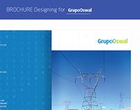 Brochure Designing for Grupo Oswal : Power Generation