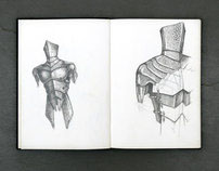 One Hyde Park, Armour - Sketches
