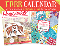 Homemaker Issue 12 plus free calendar