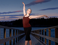 Dancer on Dock