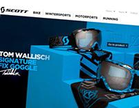 SCOTT Sports webdesign