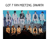 GOT 7 Fan Meeting in Jakarta