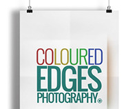 Coloured Edges Photography - Logo Design