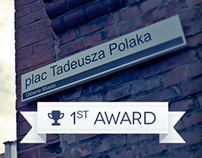 Tadeusz Polak's Square Competition / 1st Award