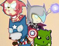 Chibich Avengers