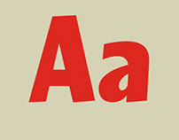 LALOLA, a display typeface with strong character