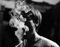 Курить неудобно