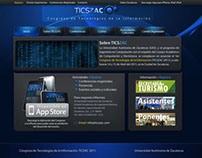 TICSZAC Website Proposal