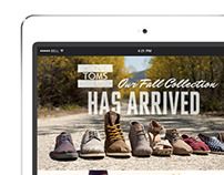 TOMS Fall '13 Retailer Eblasts
