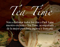 Propuestas Volantes Tea Time, Hotel Park Plaza