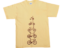 """Bicycles"" tee"