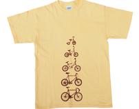 """Bicycles"" tee"