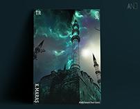 A Minaret in The Sky