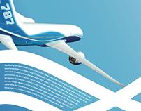 BOEING 787 // Promo Material