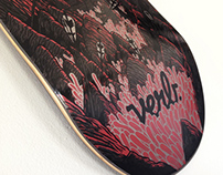 VERB skate deck : Artist series 2013