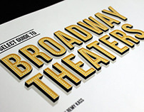 Broadway Theater Book