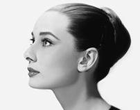 Audrey Hepburn Digital Portrait