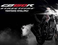 "Honda CB150R Streetfire ""Challenge Your Guts!"""