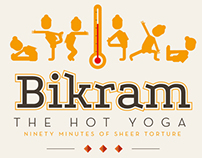 Bikram Poster