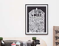 Nørrebro 22 Art Poster