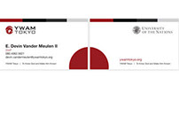 Business Cards  |  YWAM Tokyo