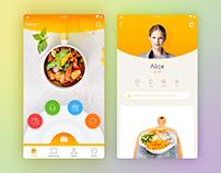 Fast food app ui design